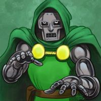 Daily Sketches Doctor Doom by fedde