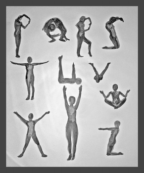 The Human Alphabet - Part 2 by geralin