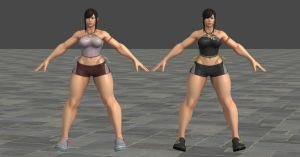 SFV Chun Li C12 Pajamas XPS *updated* by Chrissy-Tee