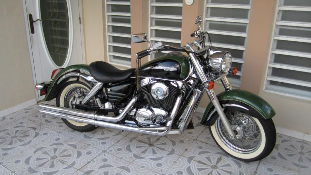 honda shadow aero 1999 part 2 by escalprillo