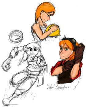 Delly sketches by raychell1