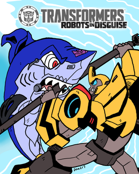 Transformers RiD '15: Catch of the Day by HappyAggro