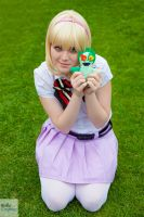 Shiemi and Nii-chan ao no exorcist cosplay by xRika89x