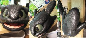 Toothless Finished Head by Monoyasha