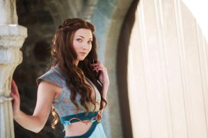 Margaery Tyrell, Green Lions dress, 3 by Santatory