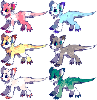 Monster puppies for sale2:closed by Pand-ASS