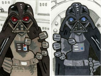 Star Wars Chrome Perspectives - Darth Vader by 10th-letter