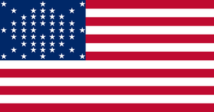 United States Flag (50 Stars) by 00Snake