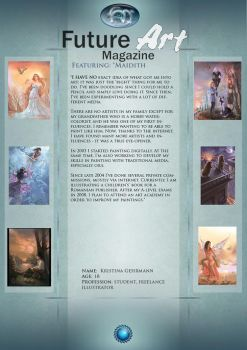 Artist Feature: Maidith by Future-Art-Magazine