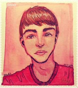 Miles Heizer by onnikalee