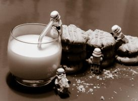 Cookies and Milk for the Stormtroopers (LEGO) by shadowfax412