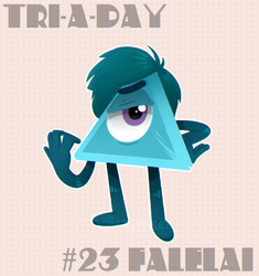Tri-a-Day #23: Falelai by V0IDSPACER