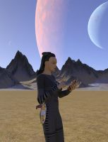 Cardassian Female in Landing Party by MurbyTrek