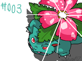 #003 Venasaur by SaintsSister47