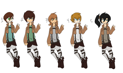 Attack on Titan adopts TAKEN by zeIIda