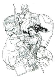 Avengers by IwanNazif