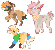Assorted Adopts *CLOSED* by FUDANSHl