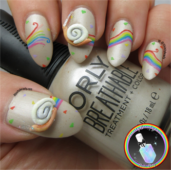 3D Snail Nails by Ithfifi