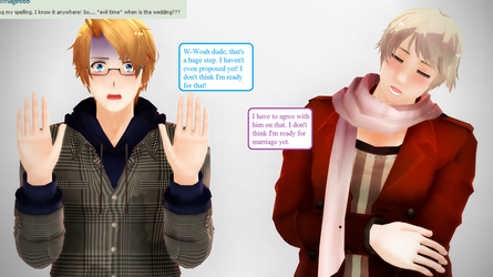 Ask RusAme Question 12: Wedding Plans? by MMD-AskRusAme