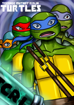 TMNT TCRI 2105: Cover by KameBoxer