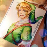 Another Sunny Link - WIP by Laovaan