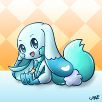 AT: Fluffy Cloud Bunny by CRAZ1