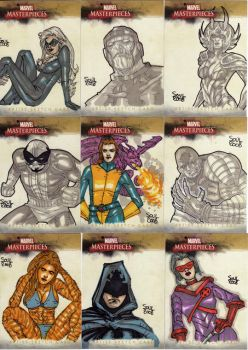 Marvel MasterPieces II SET 06 by Soul-the-Awkward