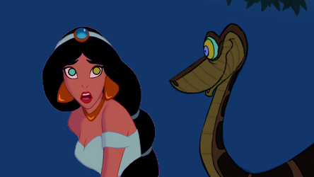 Jasmine and Kaa: Hypnosis Begins by hypnotica2002