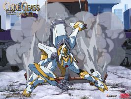 Knightmare Frame Lancelot by Rukia2486