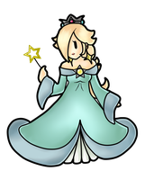 Paper Rosalina 1 by valrise