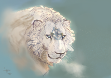 The lion of change by Roiuky