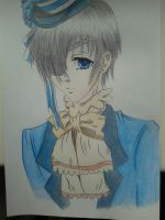 Ciel drawing by bornfromawish5621