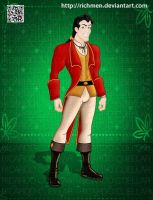 Gaston Beauty and the Beast Disney by Richmen