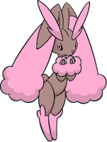 Shiny Lopunny Global Link Art by TrainerParshen