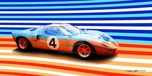 GT40 by HaroldWood