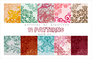 Patterns: Pack 02 by PaperJunk