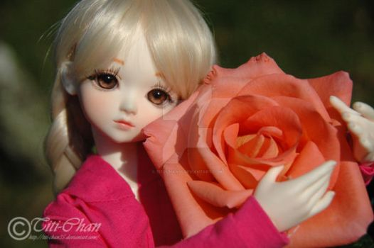 BJD : Luna and the rose by Titi-Chan35