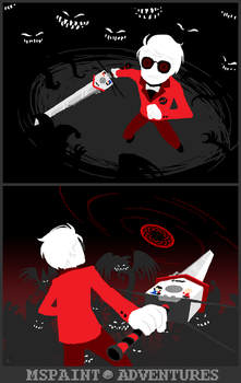 Homestuck End of Act 4: Dave by lexxercise