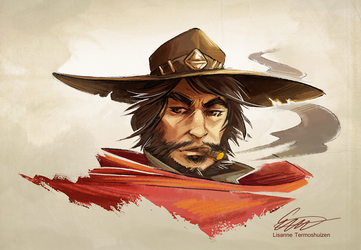 Overwatch - McCree by Makirou