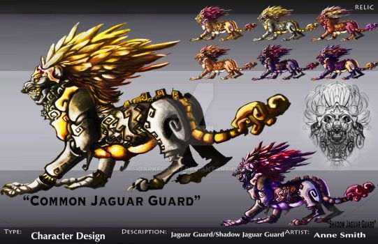 Jaguar Creature concept by darkfox907
