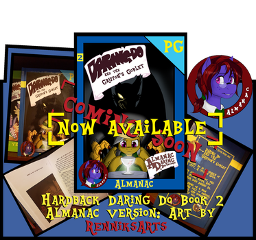 NEW BOOK IS NOW AVAILABLE! by AlmanacPony