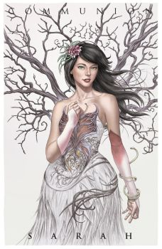 Communion: SARAH Print by MichaelChoiArt