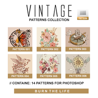 Vintage | Patterns Collection by Burn-the-life