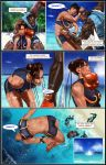 Chun Li  The Gauntlet Page 17 by Tree-ink