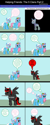 Helping Friends: The 5 Clans Part 2 by EmoshyVinyl