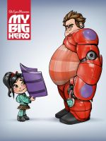 My Big Hero by SteveGibson
