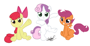 MLP CUTIE MARK CRUSADERS by zeronitan