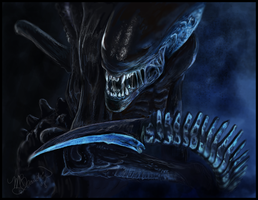 Alien by Hurrok