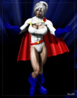 Saturn: PowerGirl Who? by Stone3D