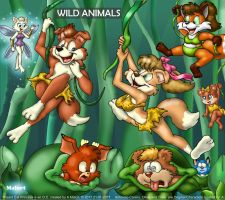 JungleWildAnimals by MalortComics785